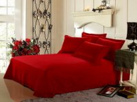 Romantic Rose Red Discount Luxury Bedding Sets