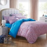 Romantic Melody Cyan Garden Bedding Flowers Bedding Girls Bedding