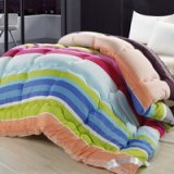 Colorful Stripes Multicolor Comforter
