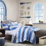 Sailing Logbook Blue Bedding Set Teen Bedding Dorm Bedding Bedding Collection Gift Idea