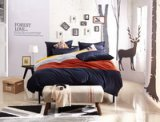 Rooftop Room Blue Velvet Bedding Modern Bedding Winter Bedding