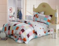 Grid Melody Cheap Kids Bedding Sets