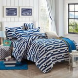 Heart By Heart Blue Style Bedding Flannel Bedding Girls Bedding