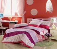 Romantic Flowers Cheap Modern Bedding Sets