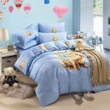 Lovely Puppy Blue Cartoon Bedding Kids Bedding Girls Bedding Teen Bedding