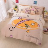 Sagittarius Beige Duvet Cover Set Star Sign Bedding Kids Bedding