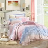 Tender Feelings Pink Bedding Set Luxury Bedding Girls Bedding Duvet Cover Pillow Sham Flat Sheet Gift Idea