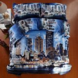 Fashion Capital Blue Bedding 3d Duvet Cover Set