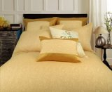 Flying Dance Yellow Duvet Cover Set Luxury Bedding
