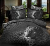 Leopard And Zebra Print Gray 3d Bedding Luxury Bedding