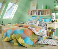 Charming Milan Green Cheap Modern Bedding Sets