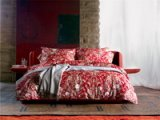 Diana Red Bedding Set Luxury Bedding Collection Pima Cotton Bedding American Egyptian Cotton Bedding
