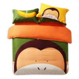The Hip Monkey Green Cartoon Animals Bedding Kids Bedding Teen Bedding