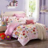 Evian Town Pink Cheap Bedding Discount Bedding