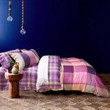 Thurrock Purple Bedding Set Modern Bedding Collection Floral Bedding Stripe And Plaid Bedding Christmas Gift Idea