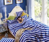 Youth Blue Bedding Set Winter Bedding Flannel Bedding Teen Bedding Kids Bedding