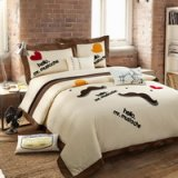 Mr Mustache Beige Bedding Girls Bedding Teen Bedding Luxury Bedding