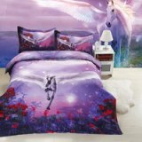 Unicorn Purple Bedding 3D Duvet Cover Set