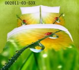 Dew And Daisy Green Ladybug Bedding Set