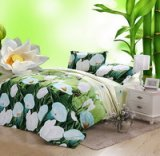 Spathiphyllum Green Bedding 3D Duvet Cover Set