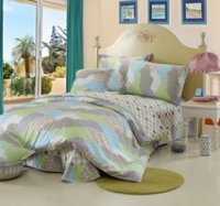 Clouds Pavilion Green Cheap Kids Bedding Sets