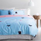 Uncle Hat Blue Bedding Set Teen Bedding Kids Bedding Duvet Cover Pillow Sham Flat Sheet Gift Idea