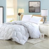 Water Cube White Down Comforter