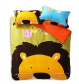 The Lion King Light Green Cartoon Animals Bedding Kids Bedding Teen Bedding