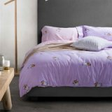 Running Sheep Purple Bedding Set Teen Bedding Kids Bedding Duvet Cover Pillow Sham Flat Sheet Gift Idea