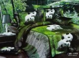 Panda Duvet Cover Set 3D Bedding