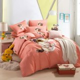 Cute Kitten Orange Cartoon Bedding Kids Bedding Girls Bedding Teen Bedding