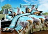 Ten Thousand Steeds Gallop Bedding 3D Duvet Cover Set