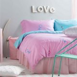You Love Me Pink Bedding Set Teen Bedding Kids Bedding Duvet Cover Pillow Sham Flat Sheet Gift Idea