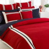 Eaton Red Luxury Bedding Quality Bedding