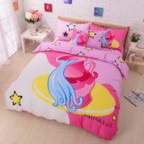 Aquarius Pink Duvet Cover Set Star Sign Bedding Kids Bedding