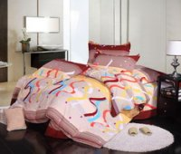 Colour Bar Style Cheap Modern Bedding Sets