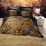 Gift Ideas Leopard Black Bedding Sets Teen Bedding Dorm Bedding Duvet Cover Sets 3D Bedding Animal Print Bedding