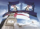 Big Ben And Pigeon Blue 3d Bedding Luxury Bedding