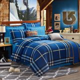 Scotland Blue Tartan Bedding Stripes And Plaids Bedding Teen Bedding