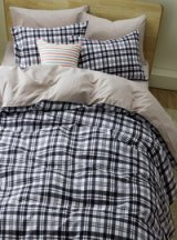 Tartan Scottish Stripes And Plaids Black Bedding Girls Bedding Teen Bedding Kids Bedding