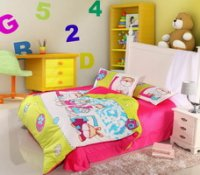 L Bear Green Discount Kids Bedding Sets