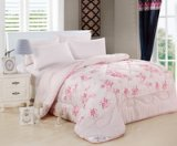 Blossom Light Red Comforter