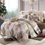 Night Harbour Beige Bedding Modern Bedding Cotton Bedding Gift Idea