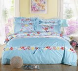 Spring Sky Blue Princess Bedding Teen Bedding Girls Bedding