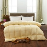 Beige Luxury Duck Down Comforter