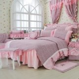 Cheetah Print Pink Girls Princess Bedding Sets