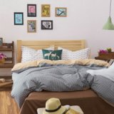 Gonzales Gray Bedding Teen Bedding Kids Bedding Dorm Bedding Gift Idea