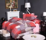 Red And Grey Cheap Modern Bedding Sets