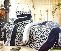 White Cheetah Print Bedding Sets