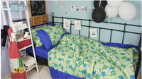 Jurassic Navy Blue Dinosaur Bedding Set